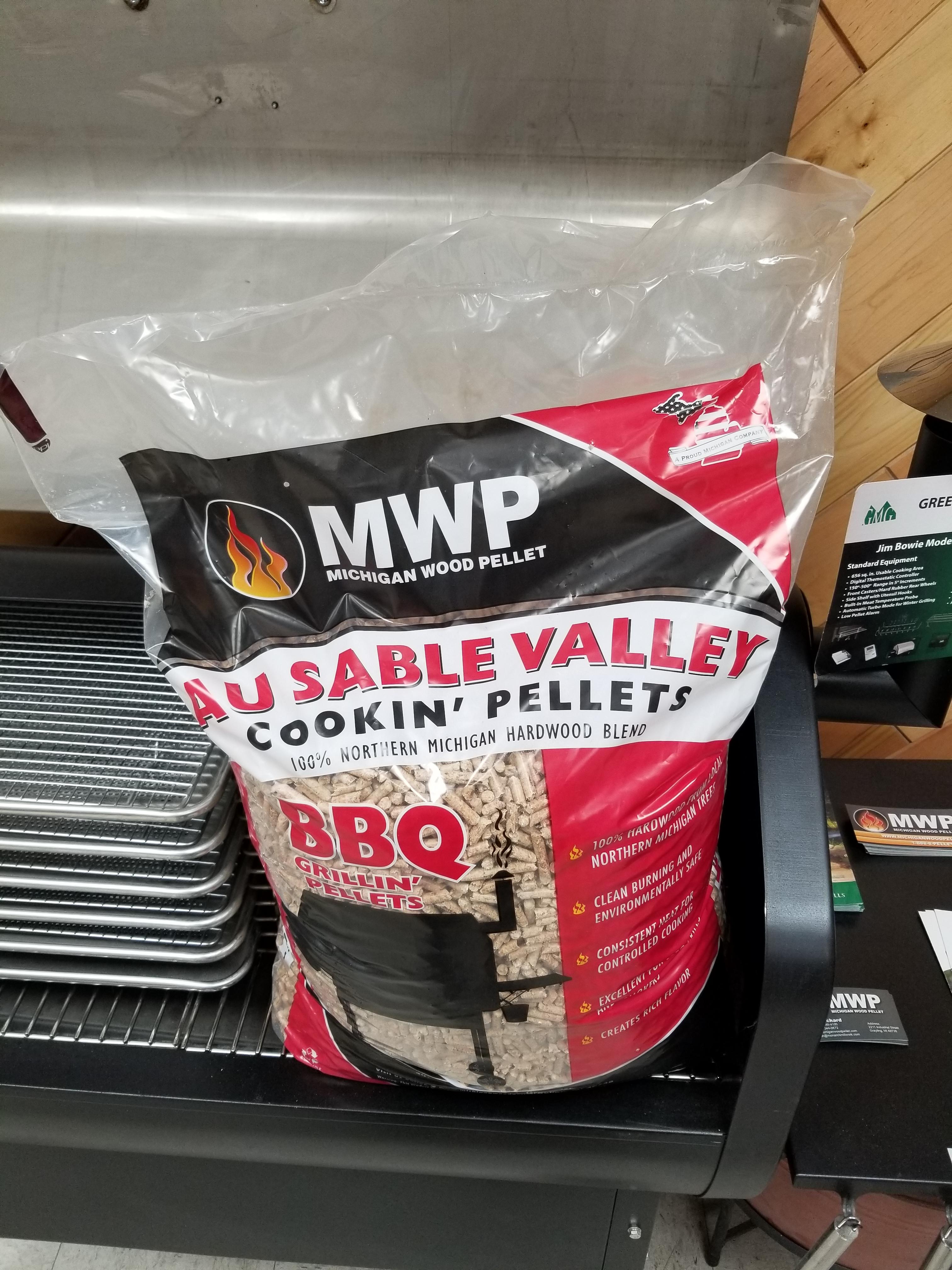 Ausable Valley Cooking Pellets Michigan Wood Pellet